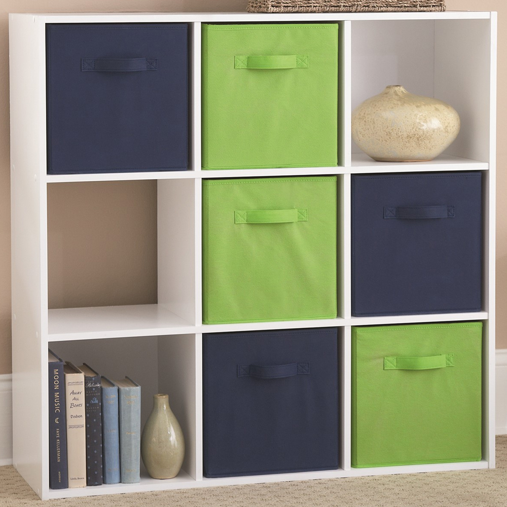 Wooden Cubby Storage Unit   Nine Compartments Image