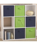 Wooden Cubby Storage Unit - Nine Compartments