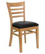 Wooden Dining Chair - Natural