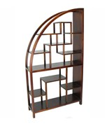 Wooden Display Unit - Half Arch