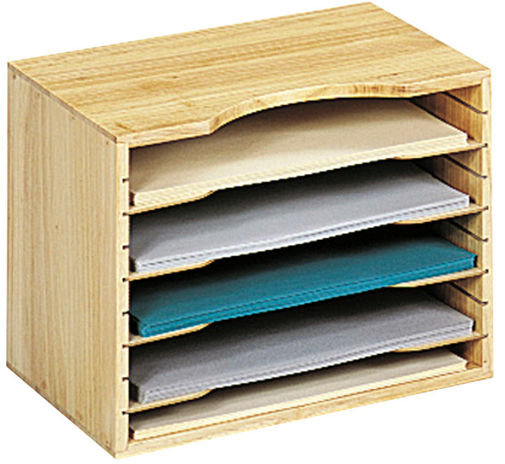 Wooden File Organizer In File And Mail Organizers