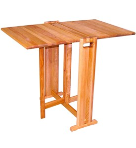 Wooden Folding Table Image