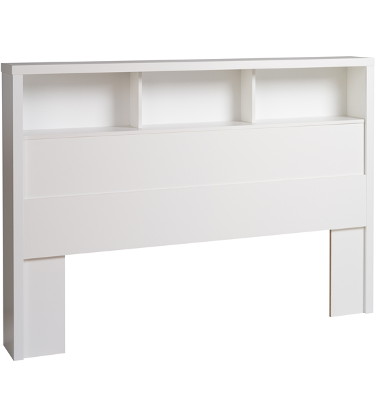 White Wood Headboards Queen Beds 550 x 600