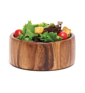 Wooden Salad Bowl - Acacia Image