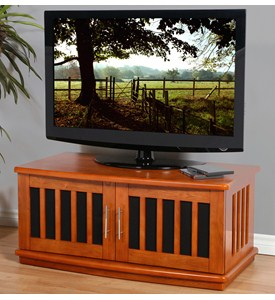 Wooden TV Console Image