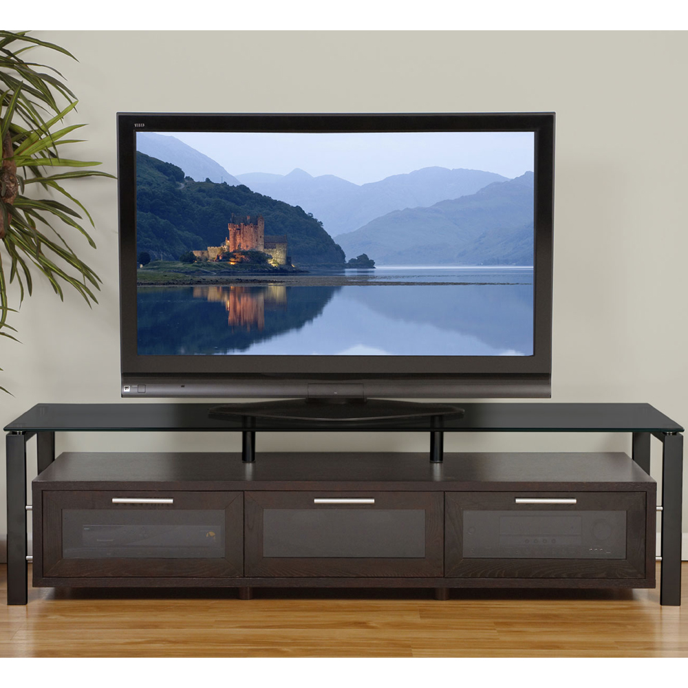 Wooden Tv Entertainment Center In Tv Stands
