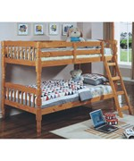 Wooden Twin Bunk Bed