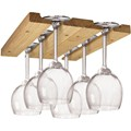 Wooden Wine Glass Rack