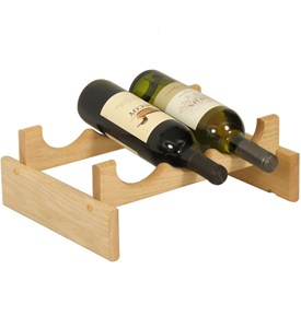 Wine Display Rack - 3 Bottle Image
