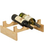 Wine Display Rack - 3 Bottle