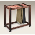 Rolling Pant Trolley with Cedar Hangers