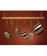 Hanging Single Bar Pot Rack