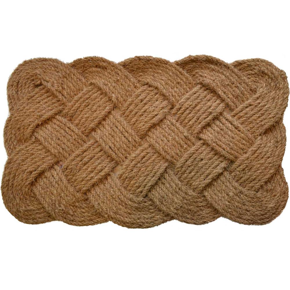 Woven Rope Doormat In Doormats