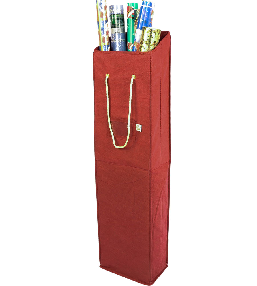 wrapping paper storage box in gift wrap organizers. Black Bedroom Furniture Sets. Home Design Ideas