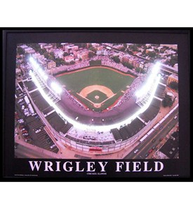 Wrigley Field Neon LED Art Picture by Neonetics Image