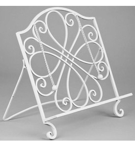 Wrought Iron Cookbook Stand Image