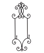Wrought Iron Decorative Display Easel