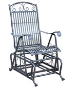 Wrought Iron Glider