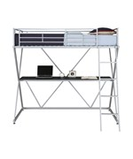 X Loft Twin Bunk Bed by Ameriwood