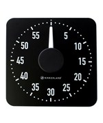 Jumbo Magnetic Kitchen Timer - Black and White
