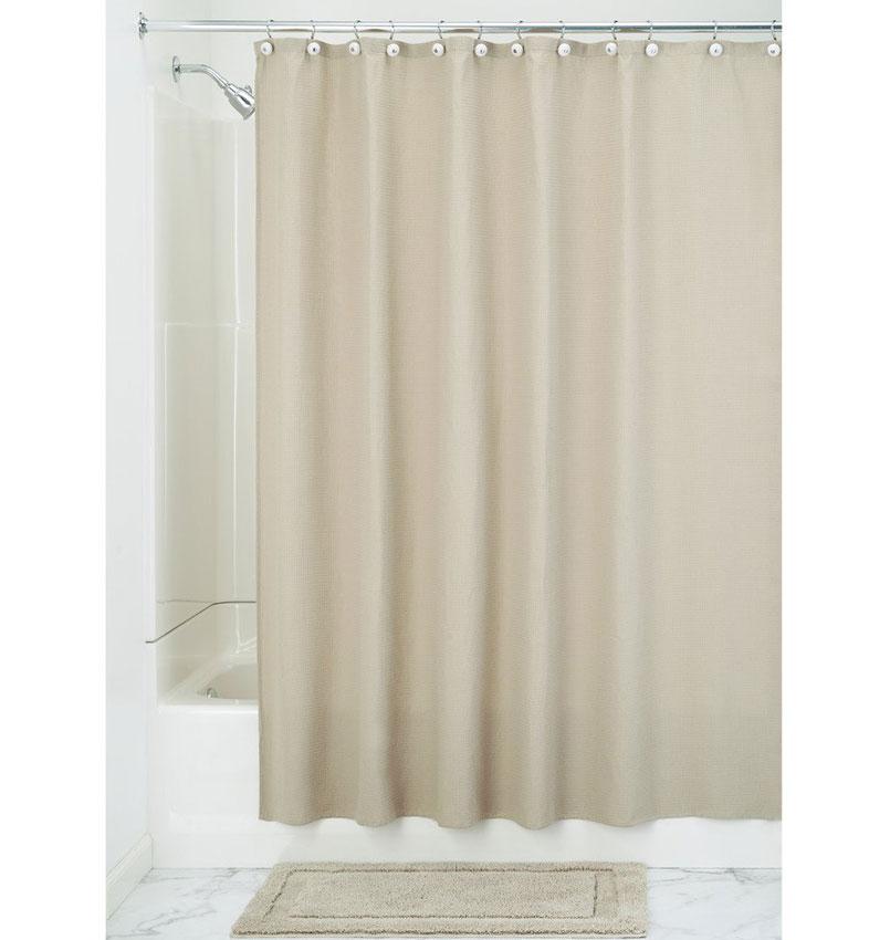 fabric shower curtain linen york