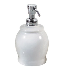 York 15 Ounce Round Soap Dispenser Image