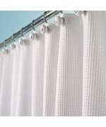 Curtains Ideas cloth shower curtain : Shower Curtains and Rings | Fabric Shower Curtain | Curtain Hooks
