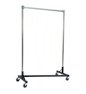 Z Garment Rack - 3ft. Single Rail Image