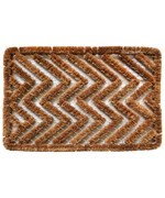 Zigzag Mat by Imports Decor