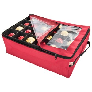 Zippered Ornament Storage Box Image