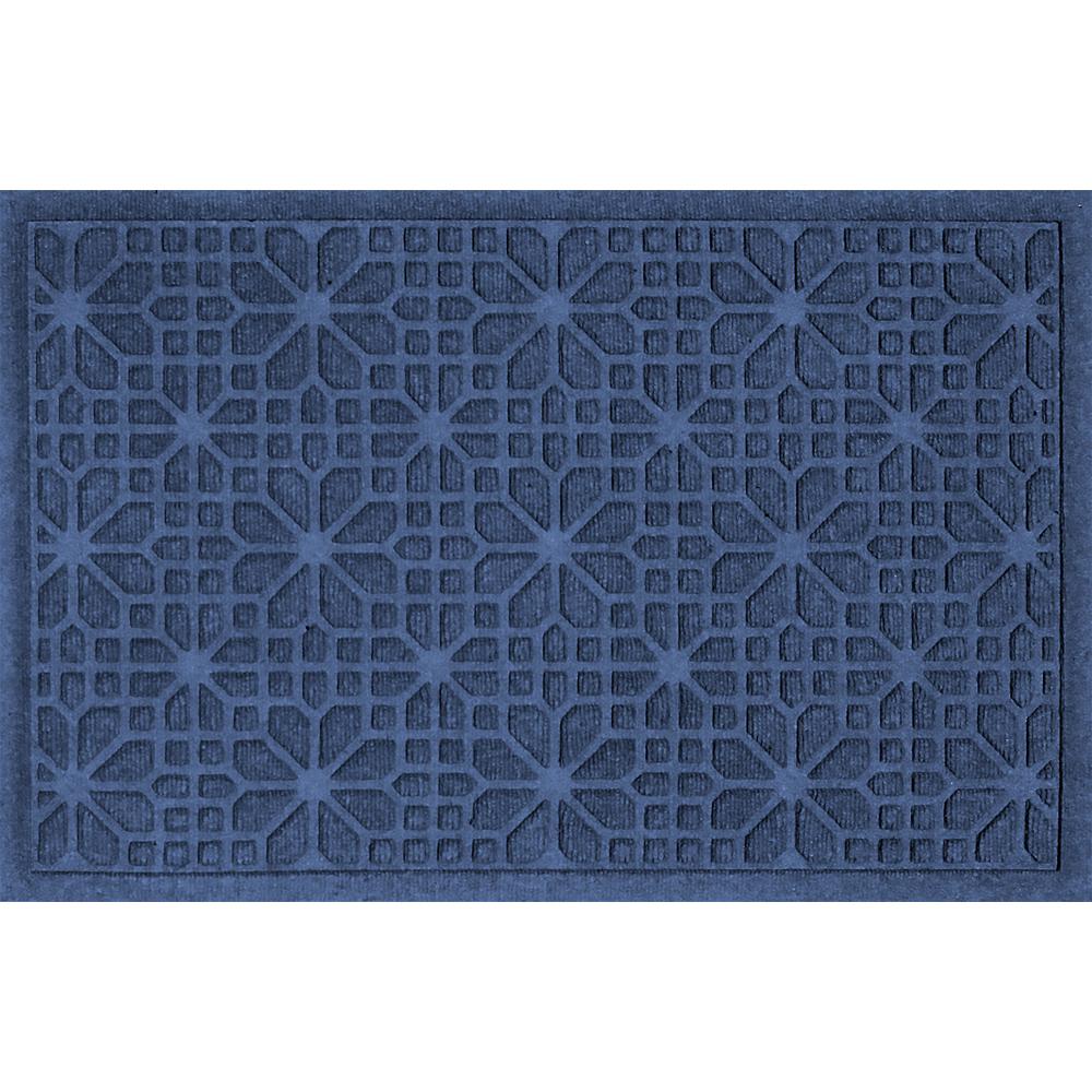 2x3 Stained Glass Front Door Mat In Doormats