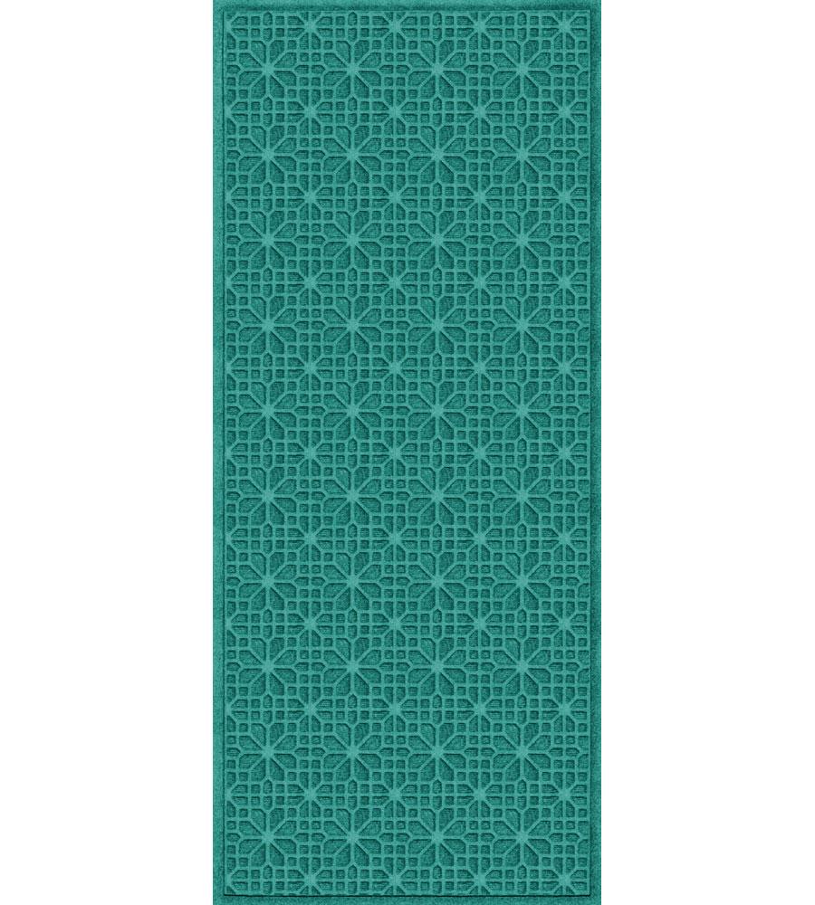 3 x 7 stained glass waterhog mat in runner rugs