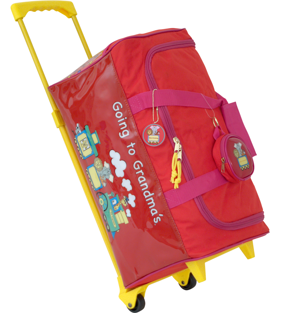 Children S Overnight Bags On Wheels Sema Data Co Op