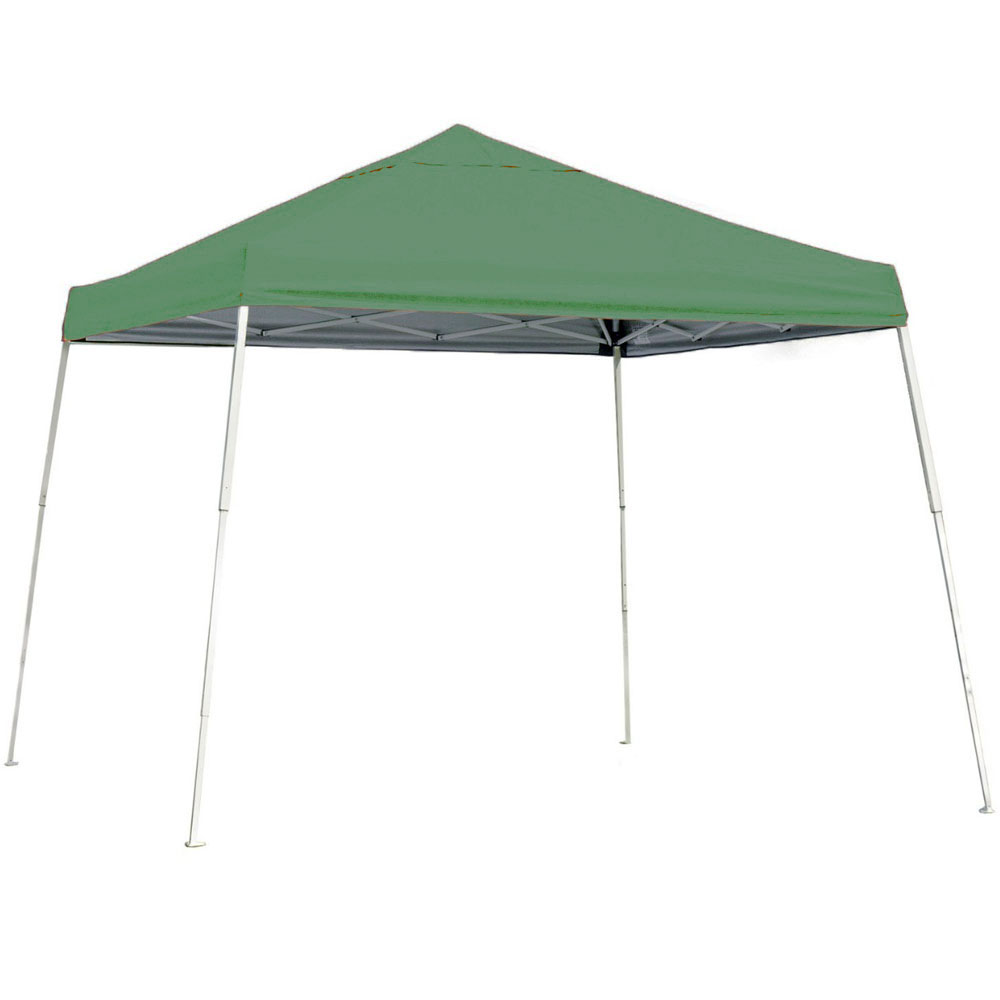 shelterlogic 12 x 12 portable canopy slanted leg in canopies