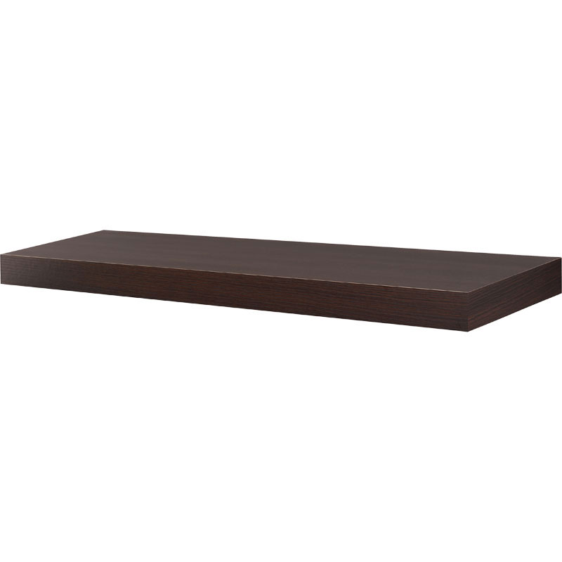 35 5 inch floating wall shelf in wall mounted shelves
