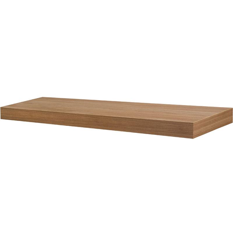 35 5 Inch Floating Wall Shelf In Wall Mounted Shelves