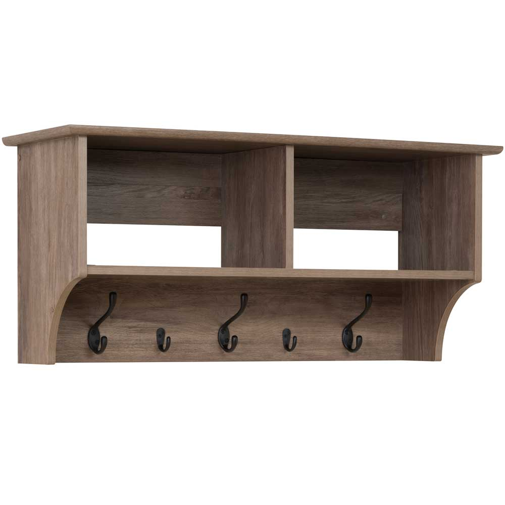 ... Shelf With Coat Hooks Image. Click Any Image To View In High Resolution