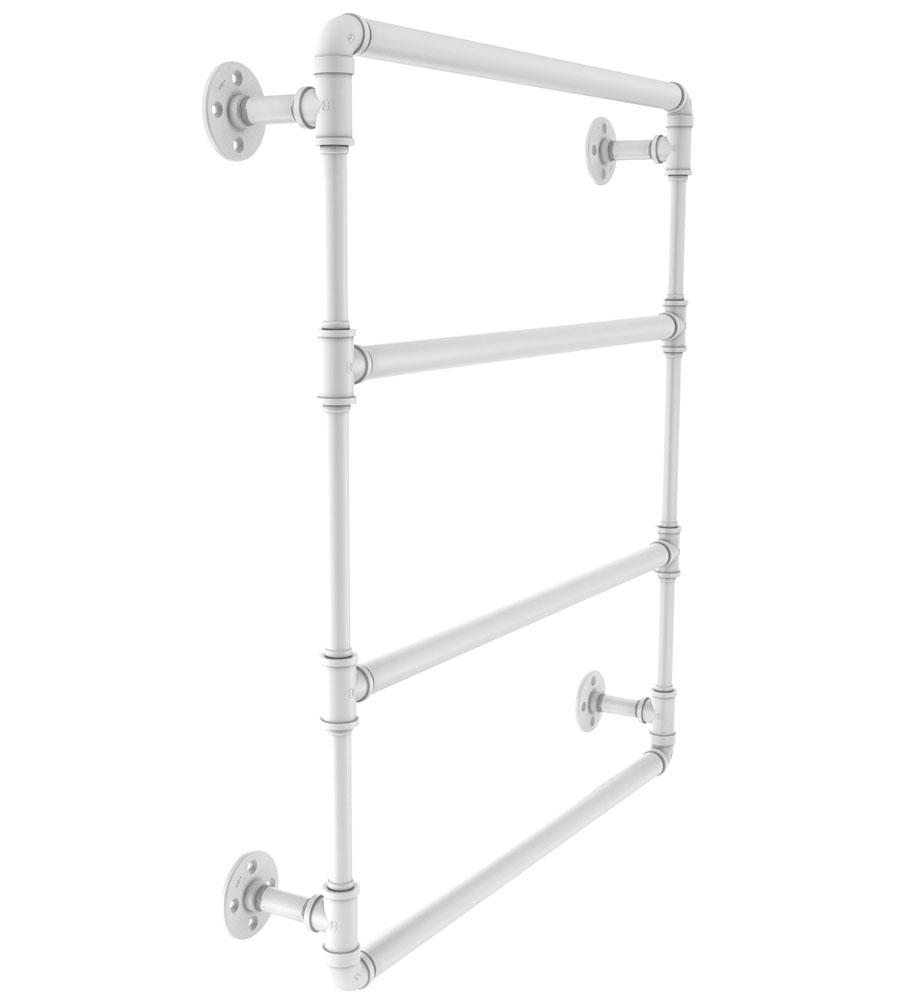 36 Inch Wall Mount Ladder Towel Bar In Wall Towel Racks