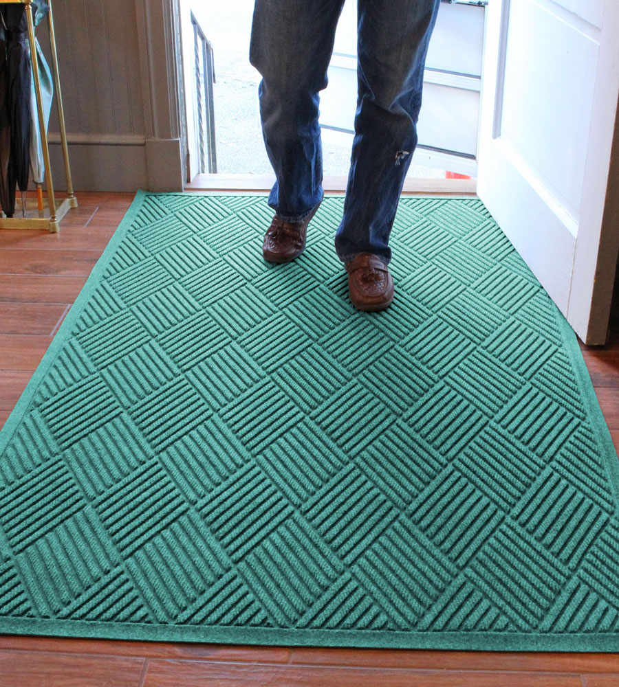 4 x 6 Entrance Mat - Diamonds in Entryway Rugs