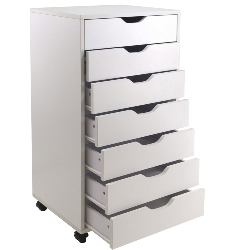 inches trippnt carts whd drawers htm wide x p with storage cart extra polyethylene drawer white