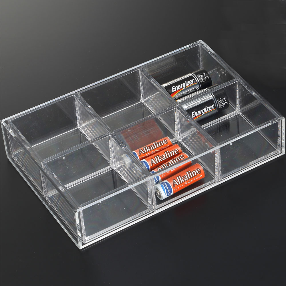 Acrylic Storage Tray In Drawer Bins