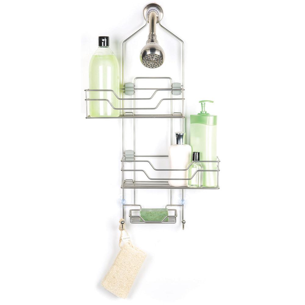Adjustable Shower Caddy With Sliding Baskets in Shower Caddies