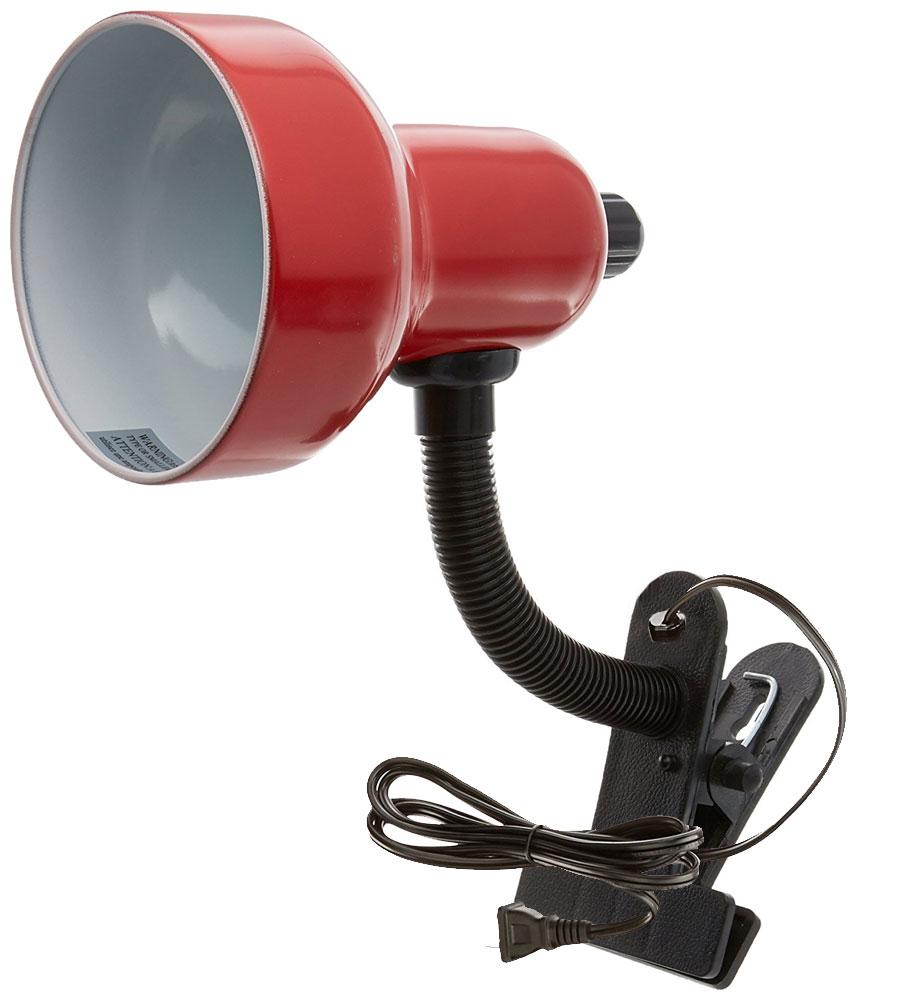 adjustable student clip on desk lamp in desk lamps. Black Bedroom Furniture Sets. Home Design Ideas