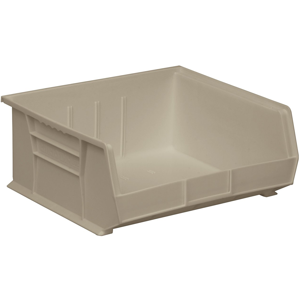 Stackable plastic storage bins iris 12 quart stack pull for Garage totes 76