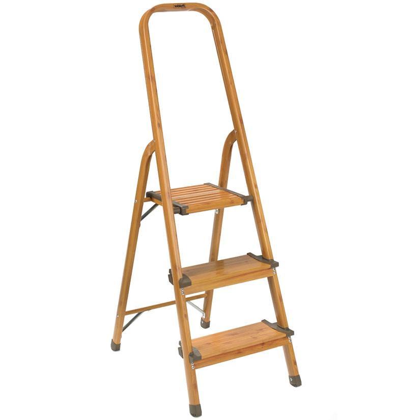 Aluminum 3 Step Ladder in Step Stools