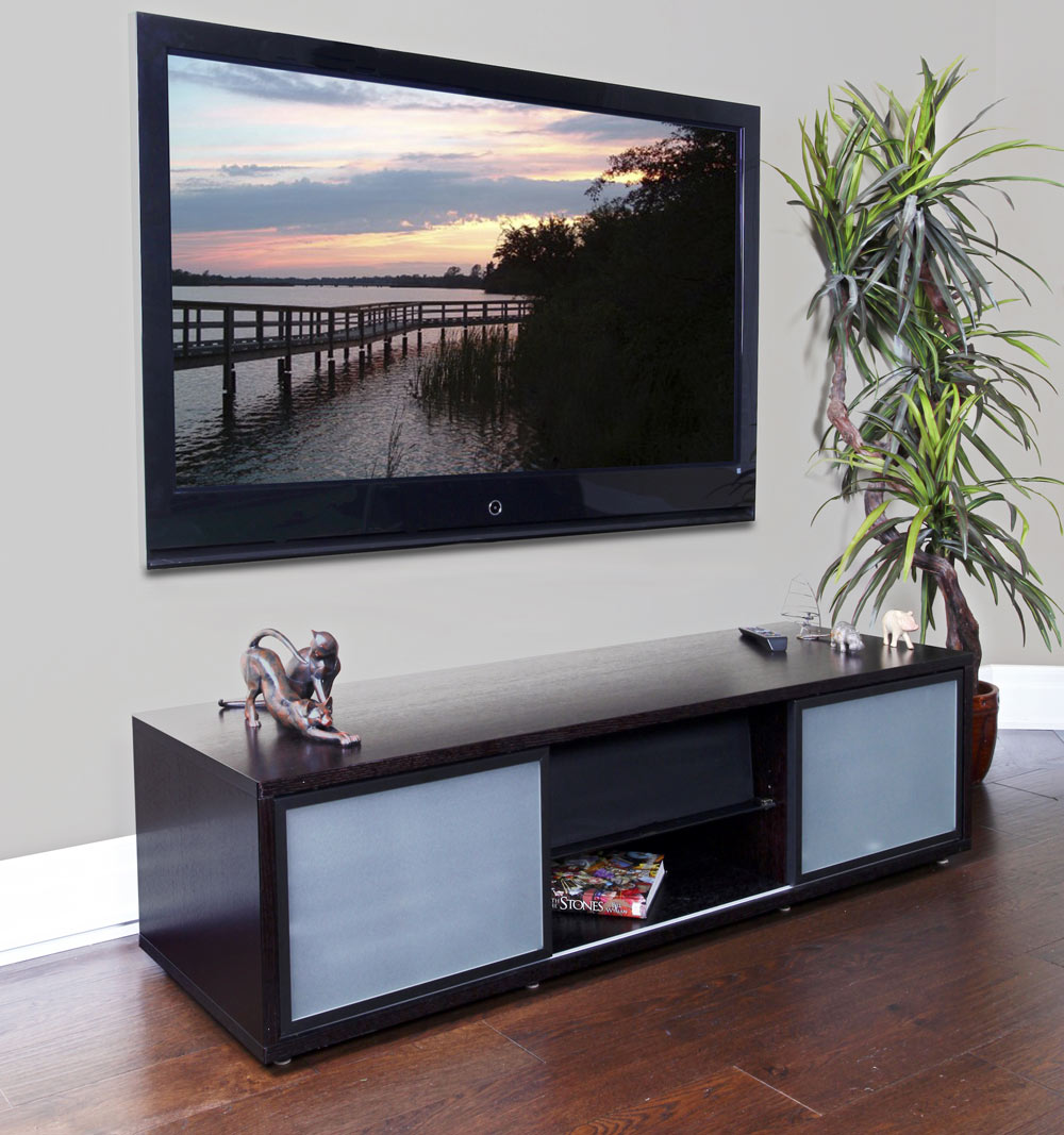 65 inch tv stand with storage in tv stands. Black Bedroom Furniture Sets. Home Design Ideas