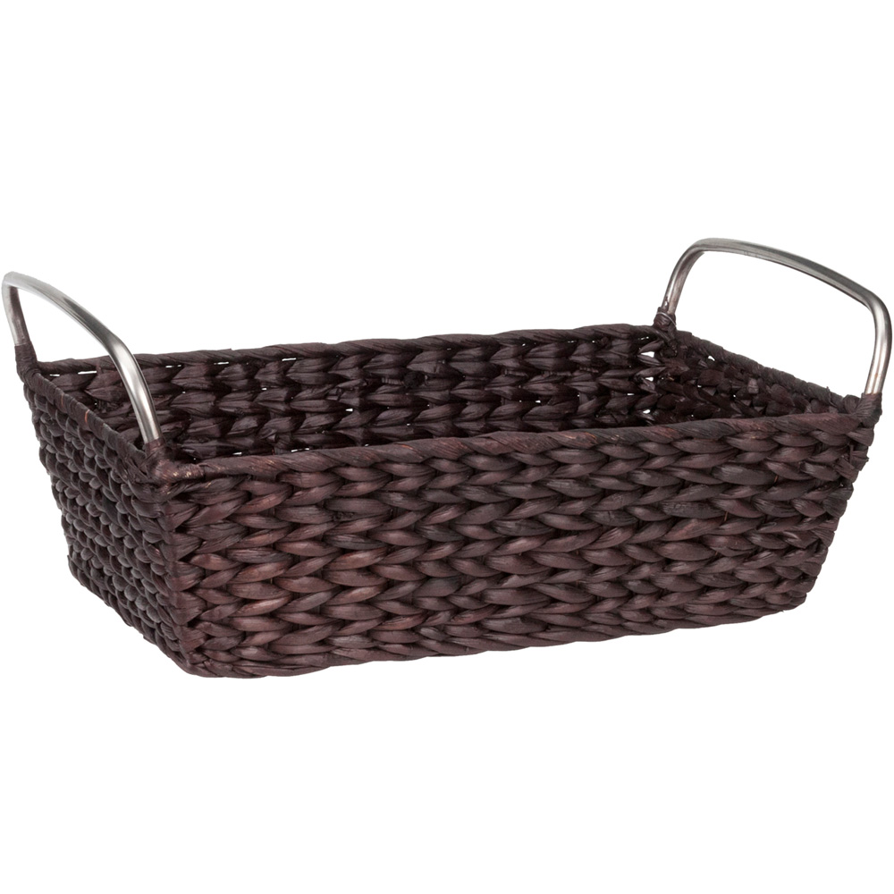 Bathroom storage basket in wicker baskets - Bathroom storage baskets shelves ...