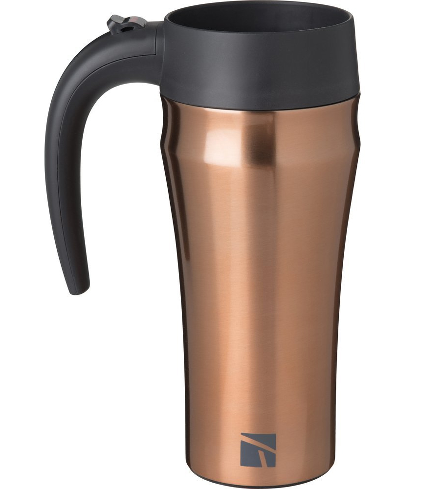 Copper Travel Mug With Handle
