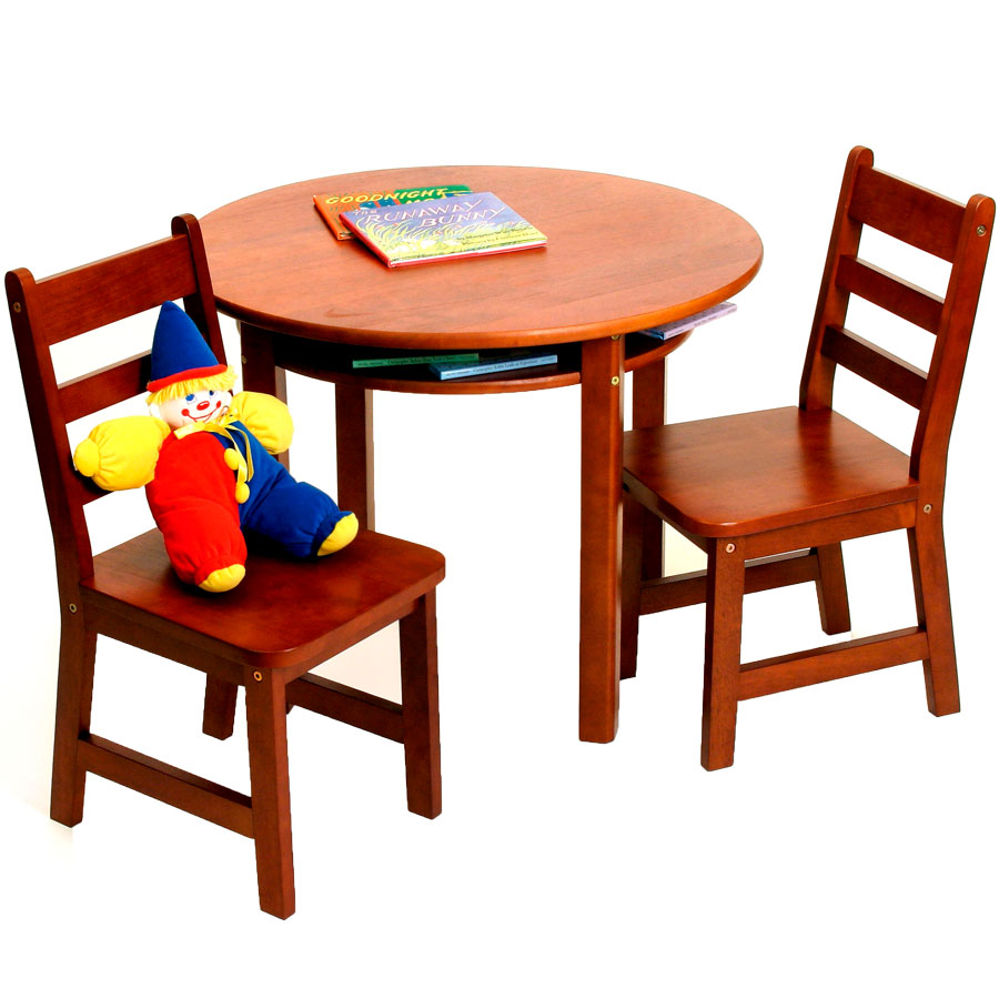wood white natural table amp 2 chairs set for children by hip kids