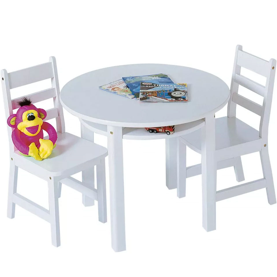 Childrens table and chairs set in kids furniture for Table and chair set